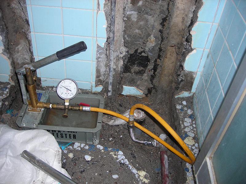 9.上階、配管の補修