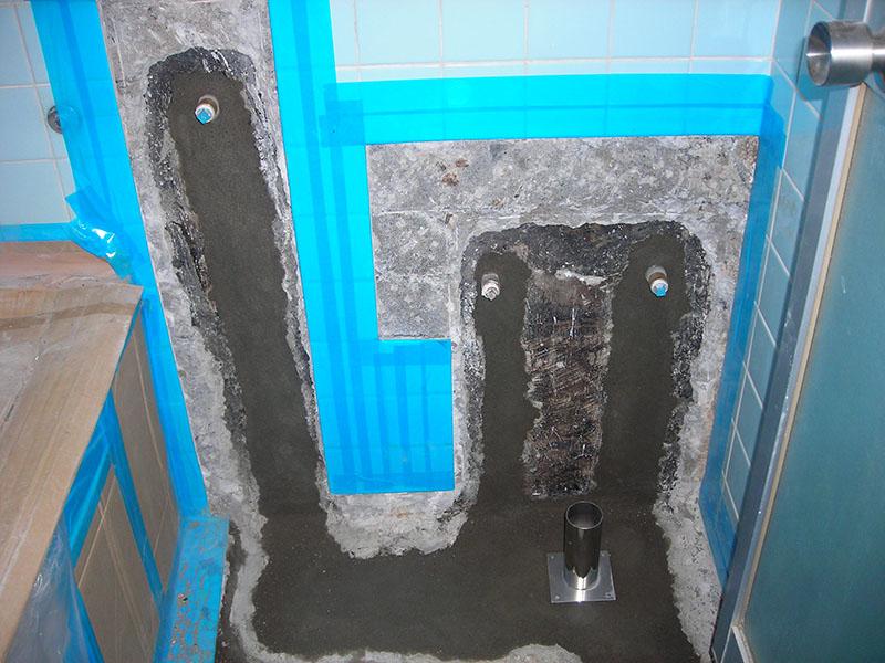 13.壁床復旧(防水下地)