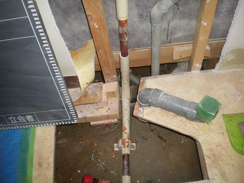 7.漏水管A確認