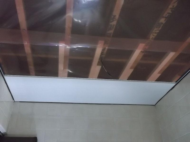 13.浴室天井復旧