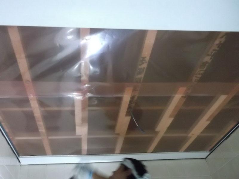12.浴室天井復旧